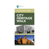City of Mount Gambier - 12 Page Heritage Wark Brochure